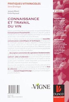 Livres Couvertures de Connaissance et travail du vin - 5e édition