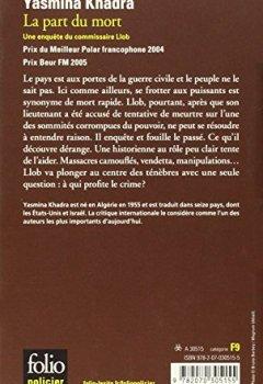 Livres Couvertures de La part du mort: Une enquête du commissaire Llob