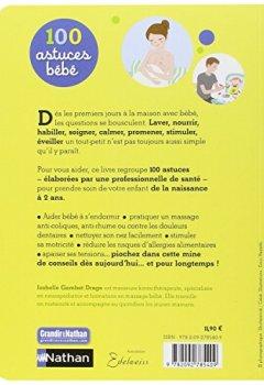 Livres Couvertures de 100 astuces bébé : Pour se simplifier la vie au quotidien - pédagogie Montessori