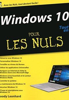 Livres Couvertures de Windows 10 Tout en un Pour les Nuls