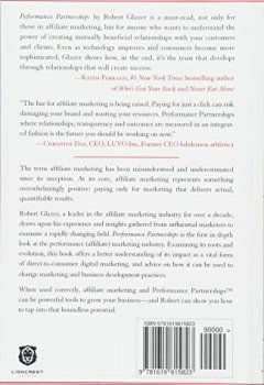 Livres Couvertures de Performance Partnerships: The Checkered Past, Changing Present & Exciting Future of Affiliate Marketing