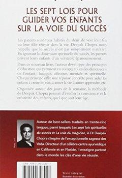 Livres Couvertures de Les sept lois pour guider vos enfants sur la voie du succès - Transmettez de vraies valeurs
