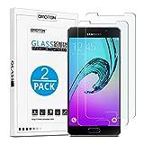 OMOTON [2-Pack] Pellicole Protettive Per Samsung Galaxy A5 (2016) Pellicola in Vetro Temperato Con[2.5D Bordi Arrotondati][3D Toccare Compatibile] [Elevata Durezza][Garanzi a Vita]