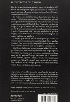 Livres Couvertures de Millénium, Tome 3 : La reine dans le palais des courants d'air