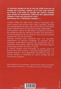 Livres Couvertures de Génération tonique