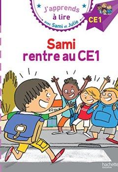 Livres Couvertures de Sami et Julie CE1 Sami rentre au CE1