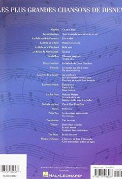 Livres Couvertures de Les Plus Grandes Chansons De Disney: 31 Chansons Classiques