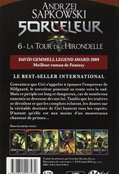 Livres Couvertures de Sorceleur, Tome 6: La Tour de l'Hirondelle