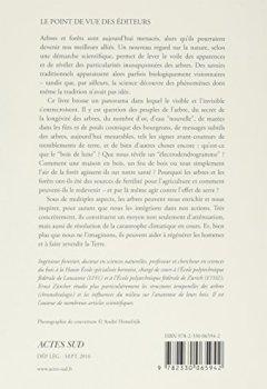 Livres Couvertures de Les Arbres, entre visible et invisible