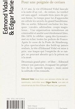 Livres Couvertures de Pour une poignée de cerises : Itinéraire d'un voyou pas comme les autres