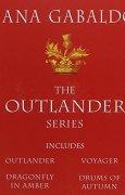 Livres Couvertures de Outlander 4-Copy Boxed Set: Outlander, Dragonfly in Amber, Voyager, Drums of Autumn.