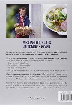 Livres Couvertures de Mes petits plats automne-hiver