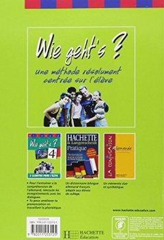 Livres Couvertures de Wie geht's ? Allemand, 4e (Cahier d'activités)
