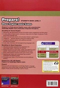 Livres Couvertures de Cambridge English Prepare! Level 5 Student's Book.