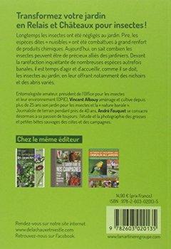 Livres Couvertures de Loger et abriter les insectes au jardin