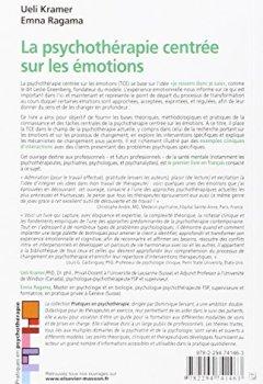 Livres Couvertures de La psychothérapie centrée sur les émotions