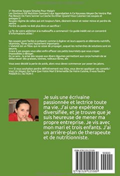 Livres Couvertures de 21 Recettes Soupes Simples Pour Maigrir: Les Docteurs DE Nutrition Donnent Leur Approbation A Ce Nouveau Moyen De Ventre Plat (soupes, recettes, cuisine, soupes et potages)