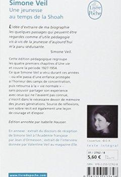 Simone Veil - Une vie, une jeunesse au temps de la Shoah 2019