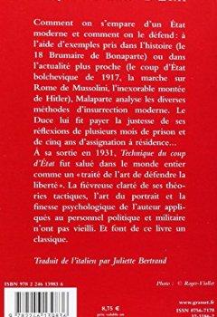 Livres Couvertures de Technique du coup d'état