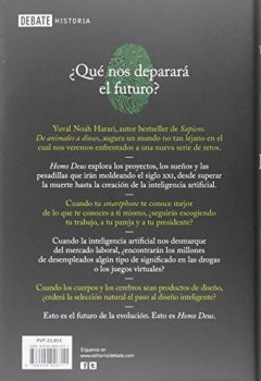 Livres Couvertures de Homo Deus / Deus Homo: Breve Historia Del Manana