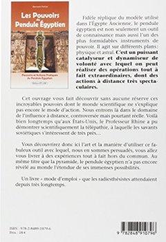Livres Couvertures de Les Pouvoirs du Pendule Égyptien - Action à distance, protection, régénération, dégagement