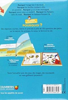 Livres Couvertures de La petite encyclopédie des pourquoi?