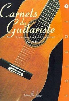 Livres Couvertures de Carnets du guitariste Volume 2