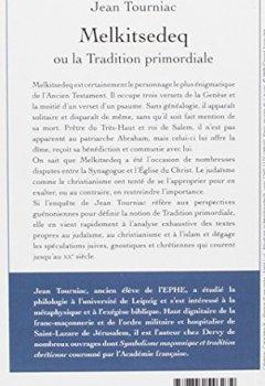 Livres Couvertures de Melkitsedeq ou la Tradition primordiale