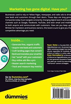 Livres Couvertures de Digital Marketing for Dummies