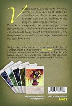 Livres Couvertures de Coffret l'Oracle des Esprits de la Nature