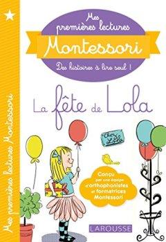 Livres Couvertures de Mes premières lectures Montessori, La fête de Lola