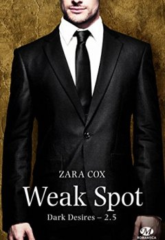Livres Couvertures de Weak Spot: Dark Desires, T2.5