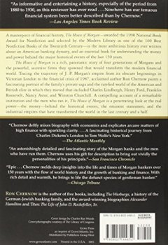 Buchdeckel von The House of Morgan: An American Banking Dynasty and the Rise of Modern Finance