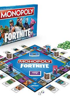 Livres Couvertures de Monopoly Fortnite - Jeu de Société - E6603