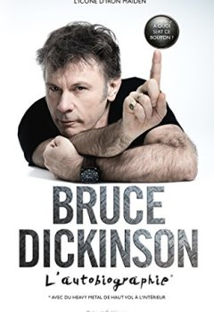 Livres Couvertures de Bruce Dickinson, l'autobiographie: À quoi sert ce bouton ?