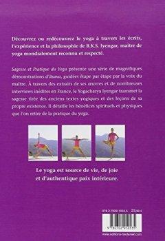 Livres Couvertures de Sagesse et pratique du yoga