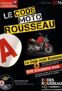 Livres Couvertures de Code Rousseau moto 2016