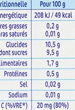 Livres Couvertures de Nestlé Bébé Naturnes Pommes Abricots - Compote dès 4 - 6 Mois - 4 x 130g - Lot de 3