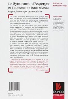 Livres Couvertures de Le syndrome d'Asperger et l'autisme de haut niveau - Approche comportementaliste