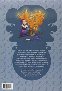 Livres Couvertures de Enola et les animaux extraordinaires, Tome 1 : La gargouille qui partait en vadrouille