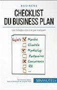 Checklist du business plan: Les 9 étapes-clés à ne pas manquer ! (Gestion & Marketing t. 27)