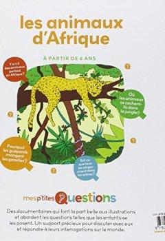 Livres Couvertures de Les animaux d'Afrique