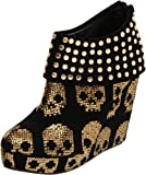 Iron Fist Women's Gold Star Wedge Pump - Womens Shoes
