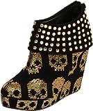 Iron Fist Women's Gold Star Wedge Pump - Womens Shoes