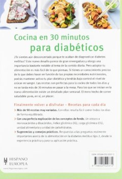 Livres Couvertures de Recetas sabrosas en 30 minutos para  diabéticos / Tasty recipes for diabetics in 30 minutes
