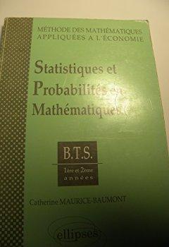 Livres Couvertures de Statistiques et probabilités en mathématiques, tome 1