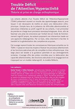 Livres Couvertures de Trouble déficit de l'attention/hyperactivité : Théorie et prise en charge orthophonique