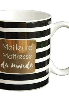 Livres Couvertures de LA CARTERIE Mug cadeau à message  Meilleure Maîtresse du monde