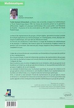 Livres Couvertures de Groupes et symétries : Groupes finis, groupes et algèbres de Lie, représentations