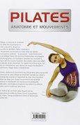 Livres Couvertures de Pilates : Anatomie et mouvements
